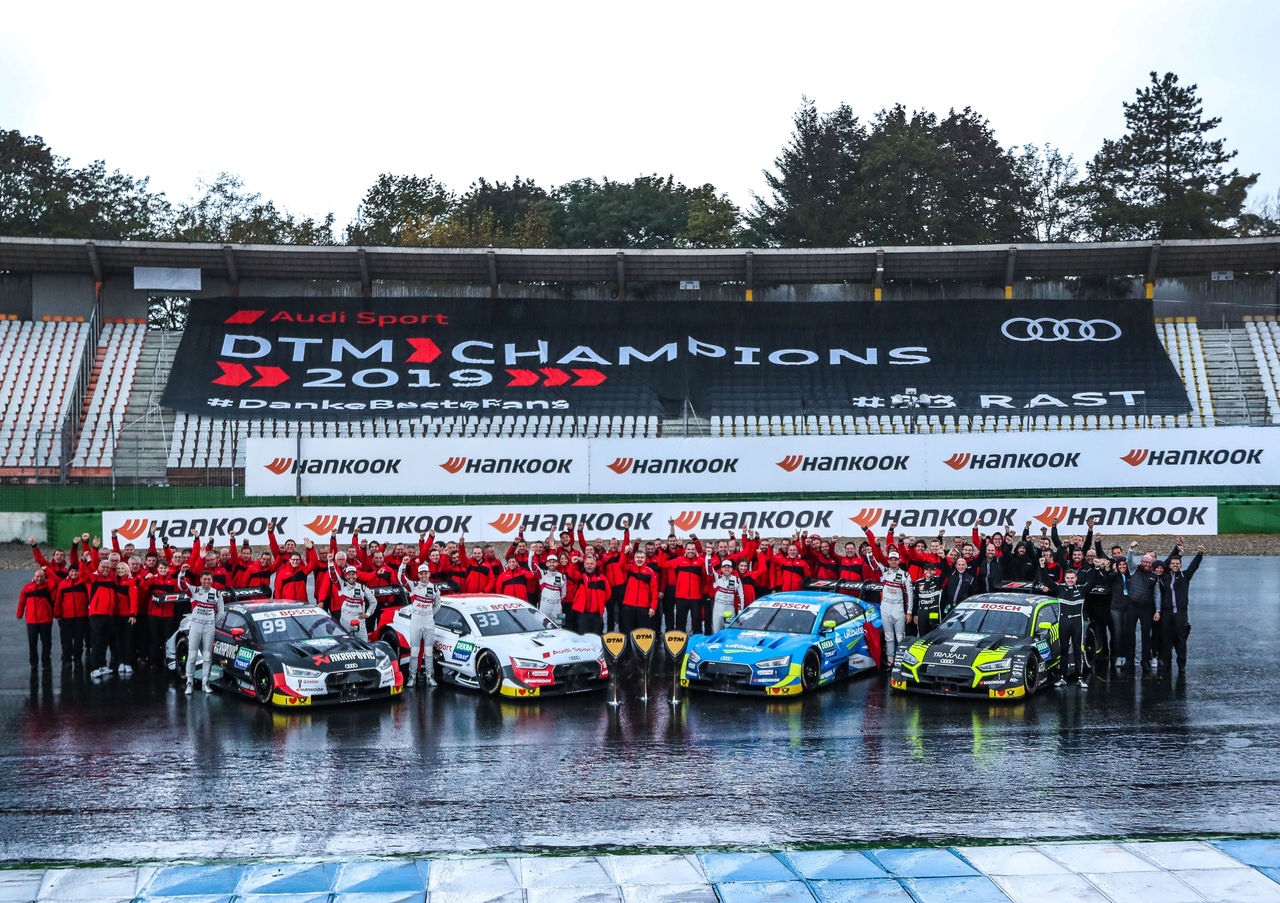 With TFSI power: record year for Audi in the DTM