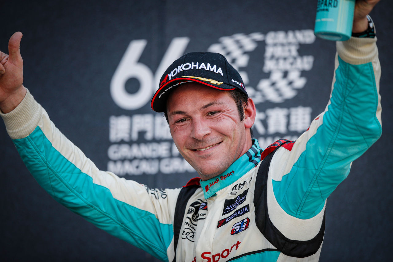 Podium result for Audi Sport in Macau