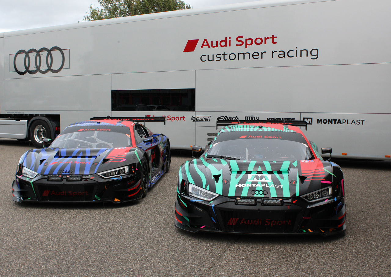 "Audi Sport in South Africa with two ""fast zebras"""