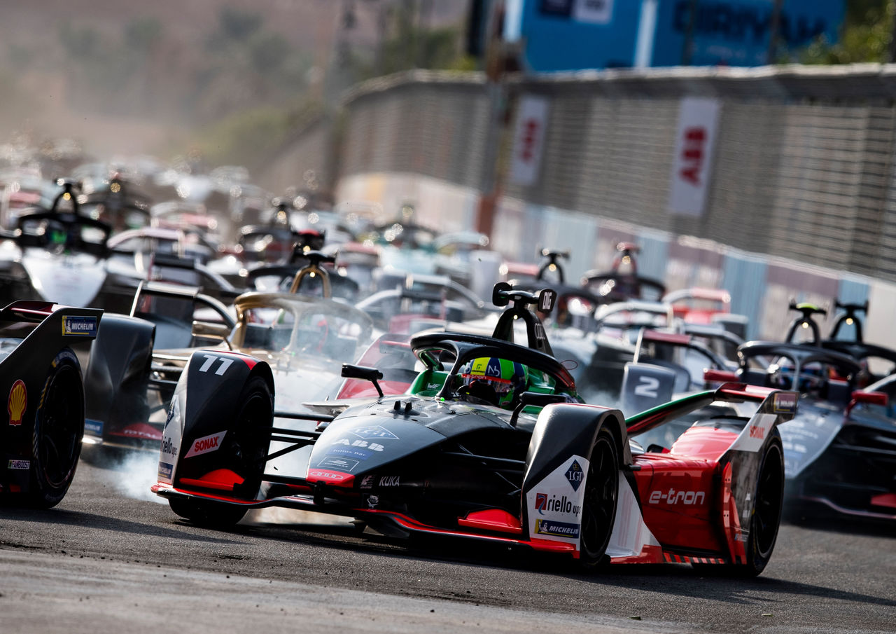 Formula E begins the New Year in Santiago