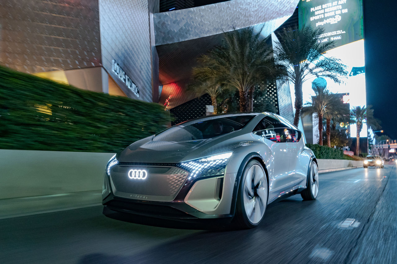 Mobility goes smart and individual:  ||Audi at CES 2020