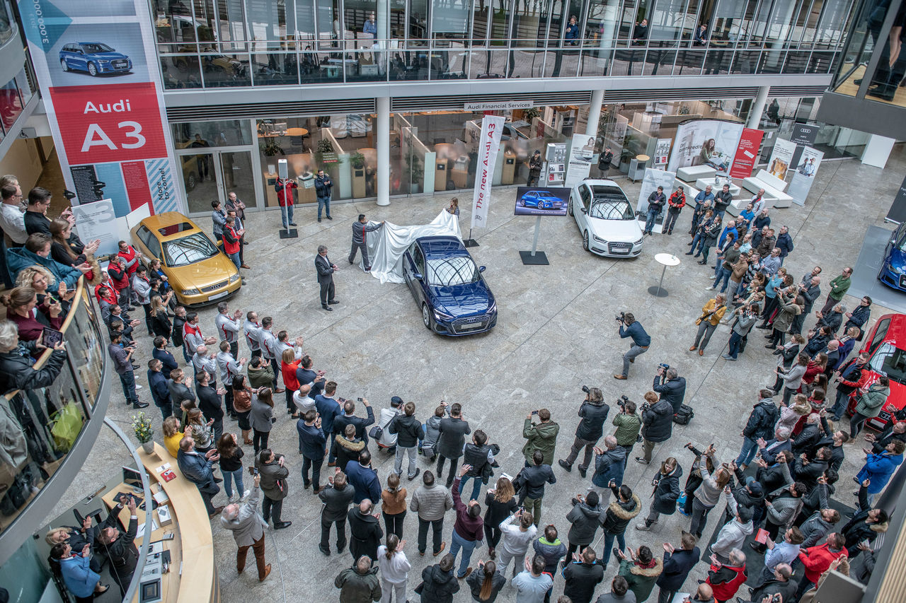 Generational change: Start of production of the new Audi A3 Sportback in Ingolstadt