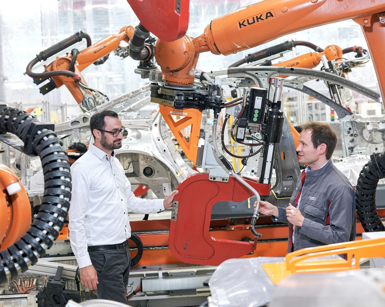 Predictive Maintenance: Audi Maintenance uses data to predict the future