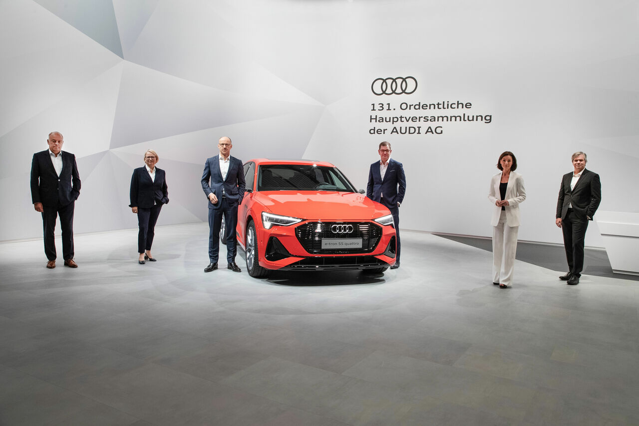 Audi Annual General Meeting votes on squeeze-out