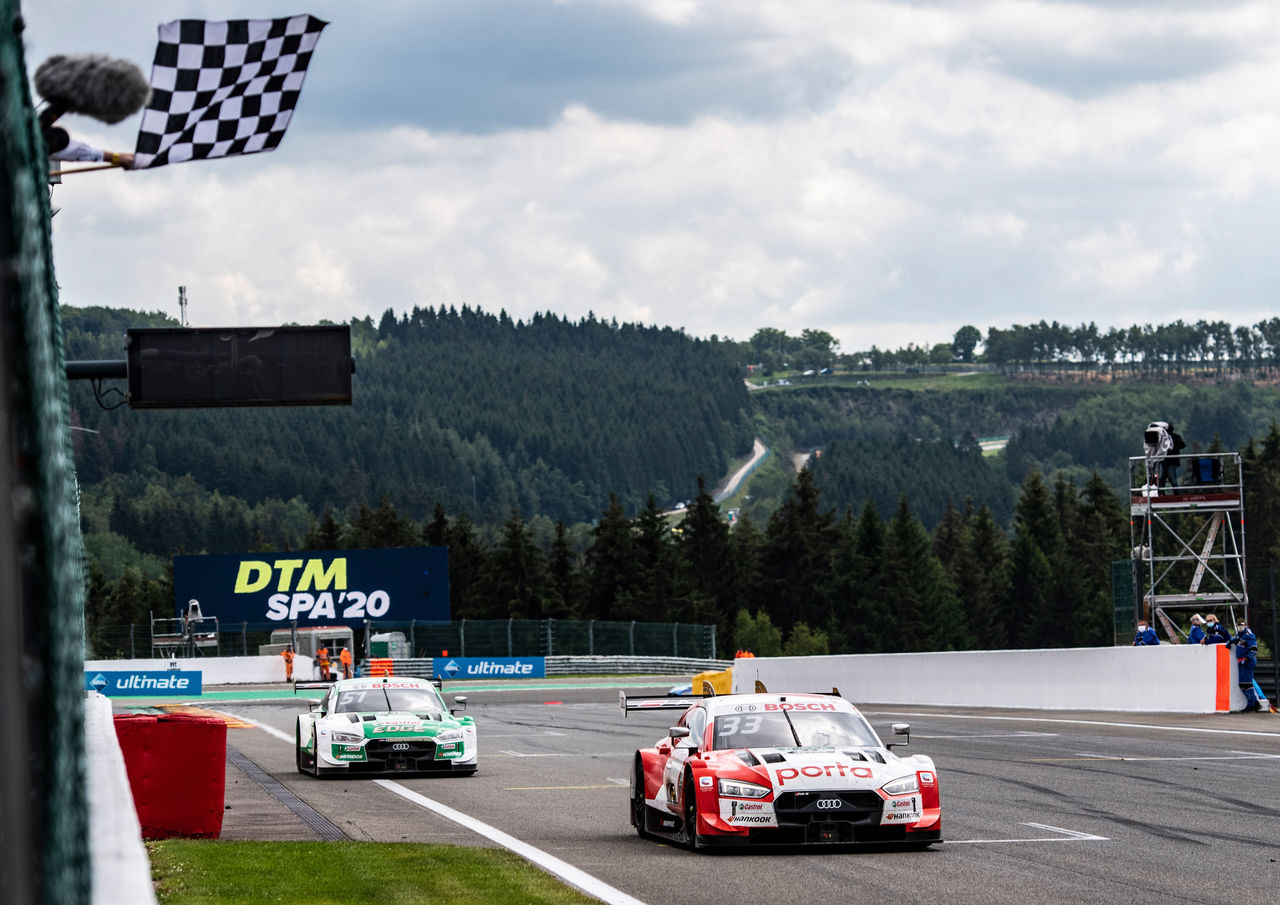 Audi dominates DTM season opener at Spa
