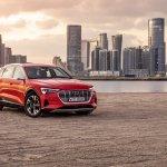 Testfahrt mit dem Audi e-tron
