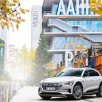 Audi in the Werksviertel district:...