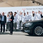Audi electrifies FC Bayern