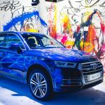 Actionpainter Anton Unai inszeniert Audi