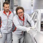 So entsteht eine makellose Audi-Karosserie