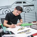 Woher Audi Designer in China...