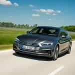 Der neue Audi A5 Sportback...