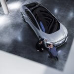 Lichtdesign des Audi Aicon
