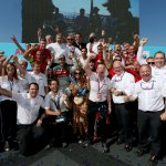 Audi wins the Formula E...