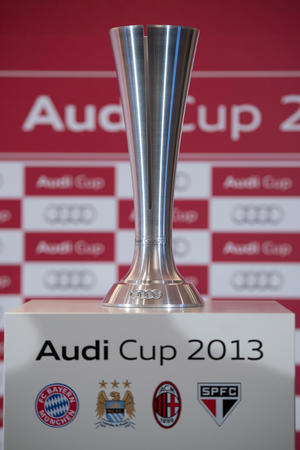 The Audi Cup trophy
