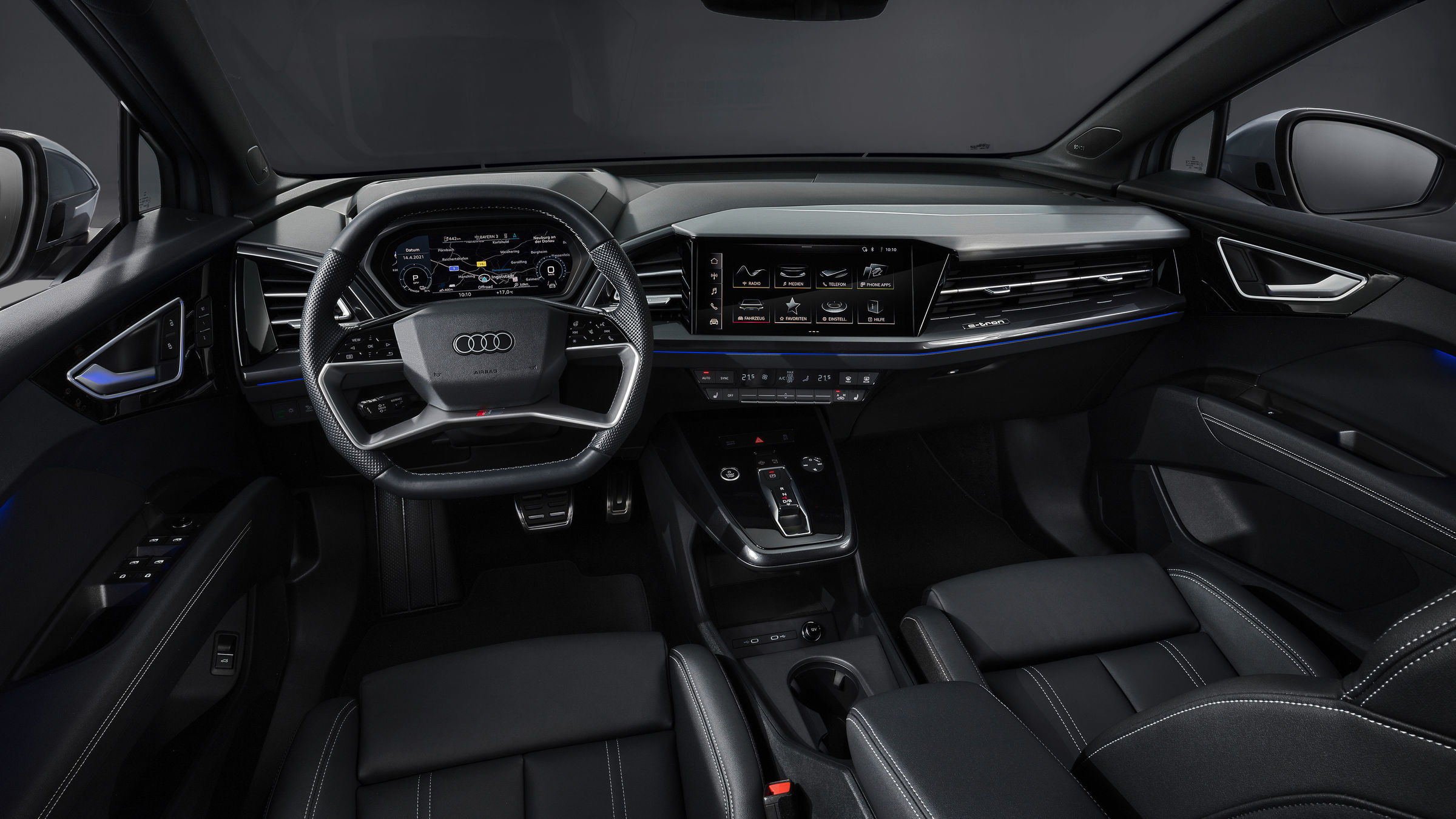 Electric, efficient and emotionally appealing: Audi Q4 e-tron and Q4 Sportback e-tron - Image 5