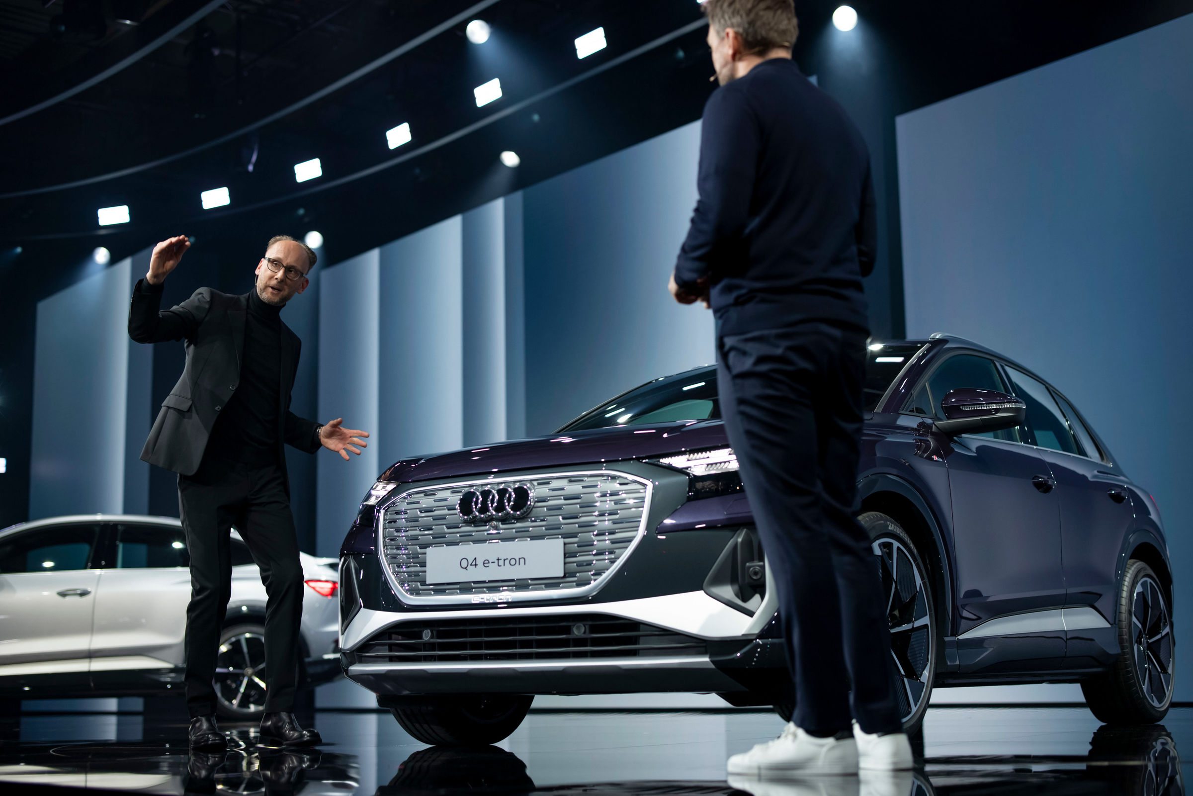 Electrifying: the online world premiere of the Audi Q4 e-tron - Image 4