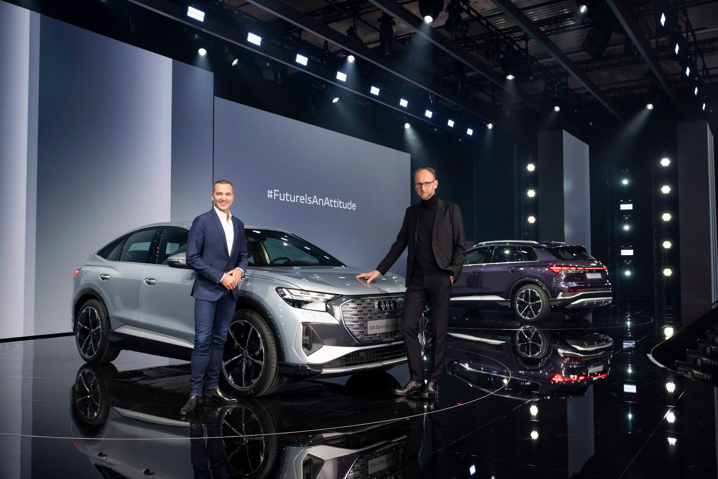 Electrifying: the online world premiere of the Audi Q4 e-tron - Image 2