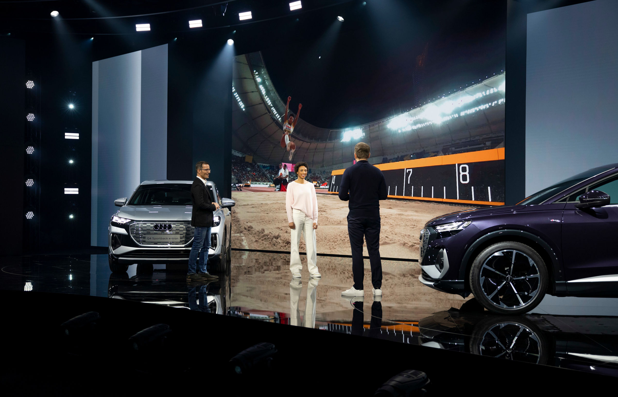 Electrifying: the online world premiere of the Audi Q4 e-tron - Image 1