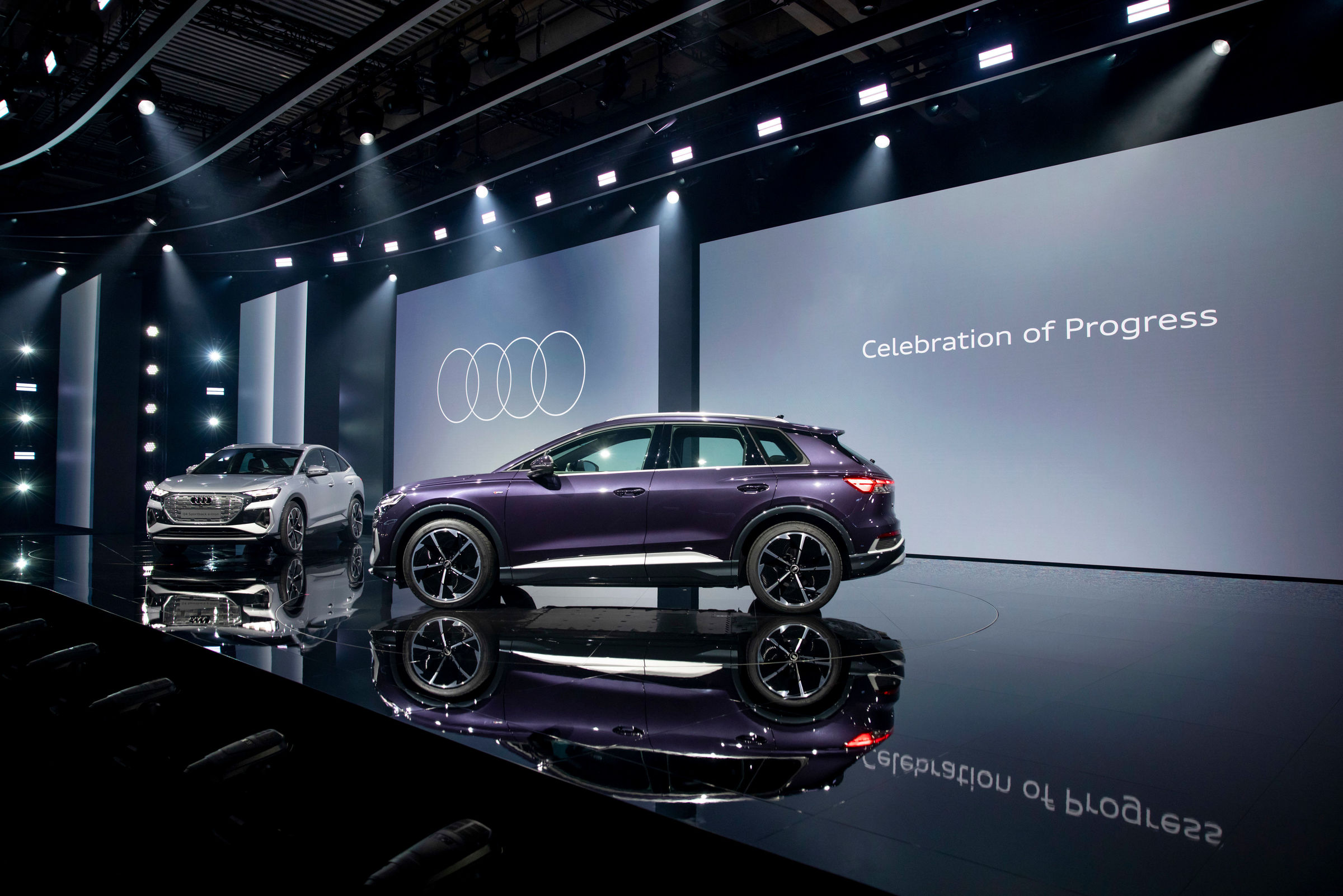 Electrifying: the online world premiere of the Audi Q4 e-tron - Image 6