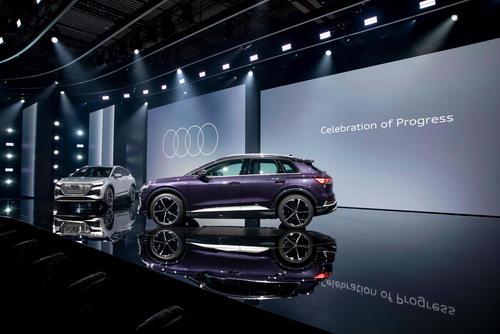 Weltpremiere Audi Q4 e-tron: Celebration of Progress