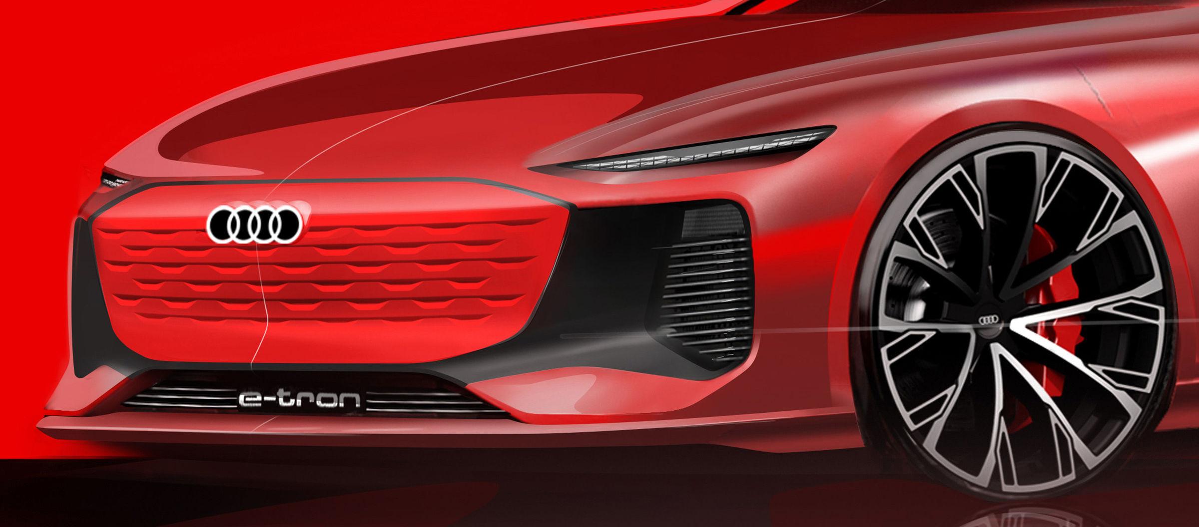 Audi Weltpremiere auf der Auto Shanghai am 19. April