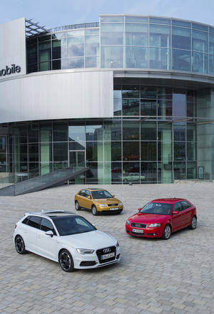 Drei Millionen Audi A3 –  Bestseller aus Ingolstadt