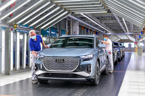 Start of production for Audi Q4 e-tron