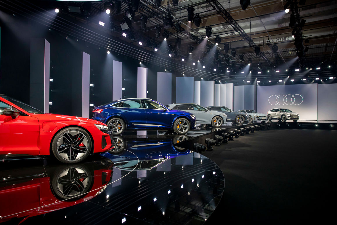 AUDI AG delivered around 1.693 million new Audi brand cars to customers during 2020.