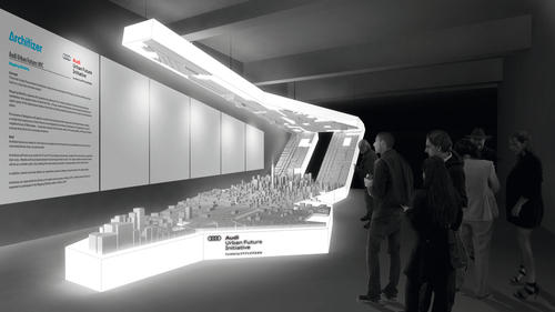 Audi Urban Future: Project New York Exhibition Rendering