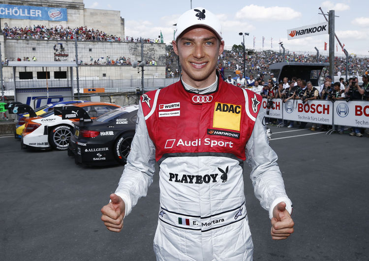 Edoardo Mortara gives Audi fans reason for hope