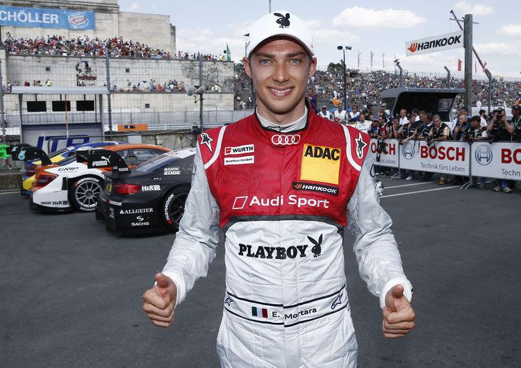 Edoardo Mortara gives Audi fans reason for hope