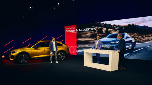 Audi TechTalk Sound & Acoustics