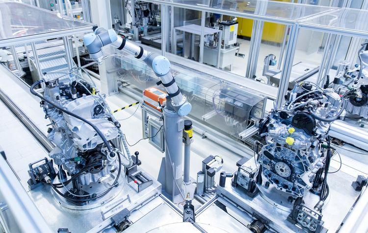 Audi Hungaria: Schnüffelroboter testet die Dreizylindermotoren von Audi
