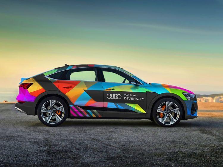 United under the flag of diversity: Audi employees celebrate European Diversity Month