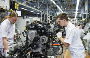 Audi A3 Produktion in Ingolstadt