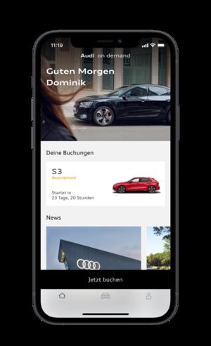 Audi baut Premium-Mobilitätsangebot Audi on demand in Deutschland weiter aus