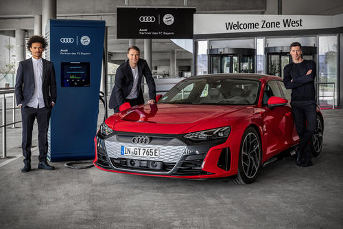 Charging infrastructure for electric cars at the Allianz Arena to be expanded