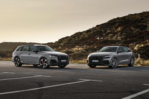 Refined details: Audi gives the A1, A4, A5, Q7 and Q8 a sporty new look for the new model year