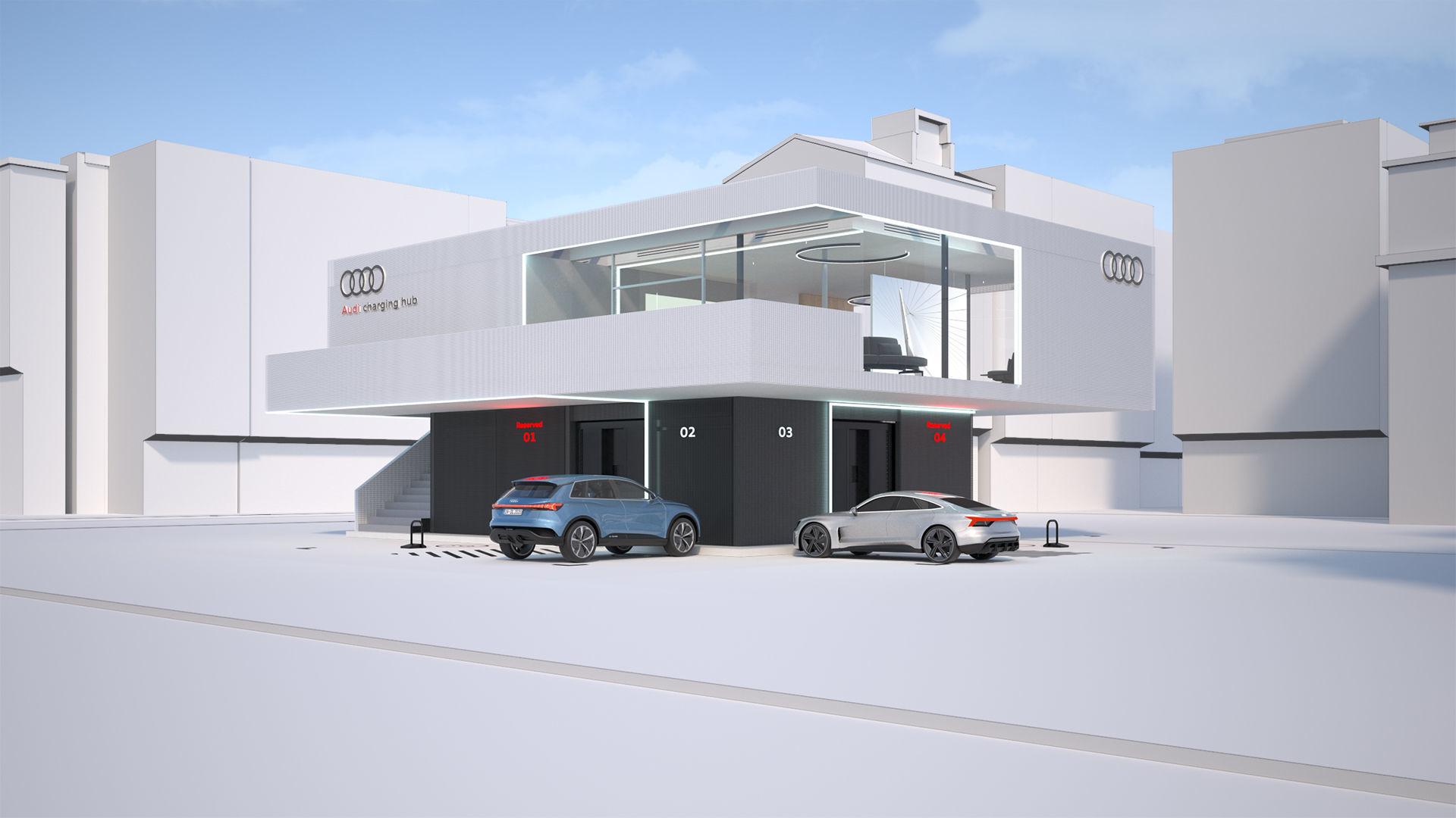 Audi pilots concept for quick charging - Image 1