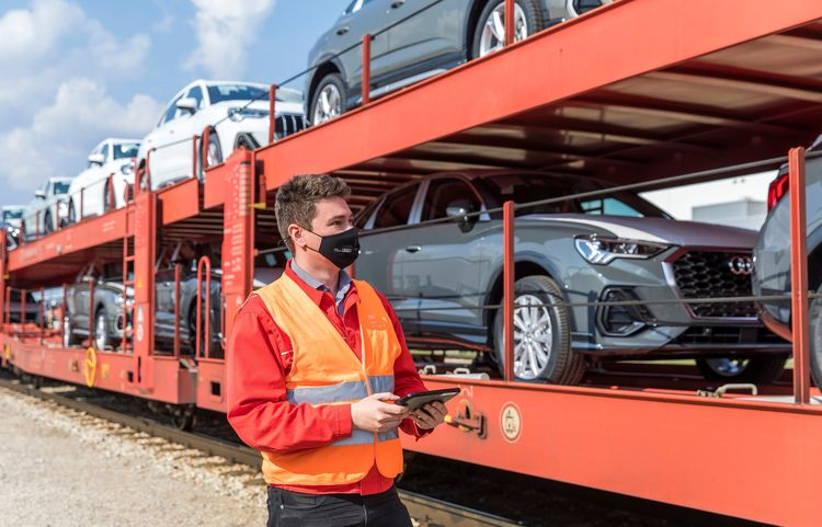 Effizientes Bahnleitsystem RAIL bei Audi Hungaria etabliert