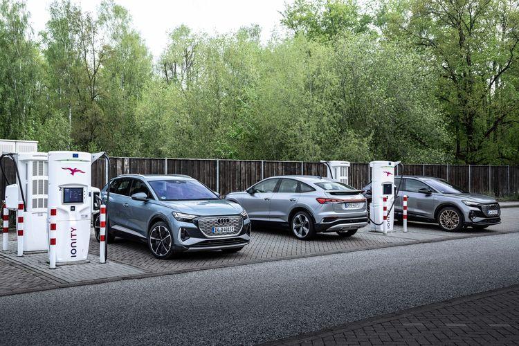 Audi Q4 50 e-tron quattro, Audi Q4 Sportback 50 e-tron quattro, Audi Q4 50 e-tron quattro Edition One