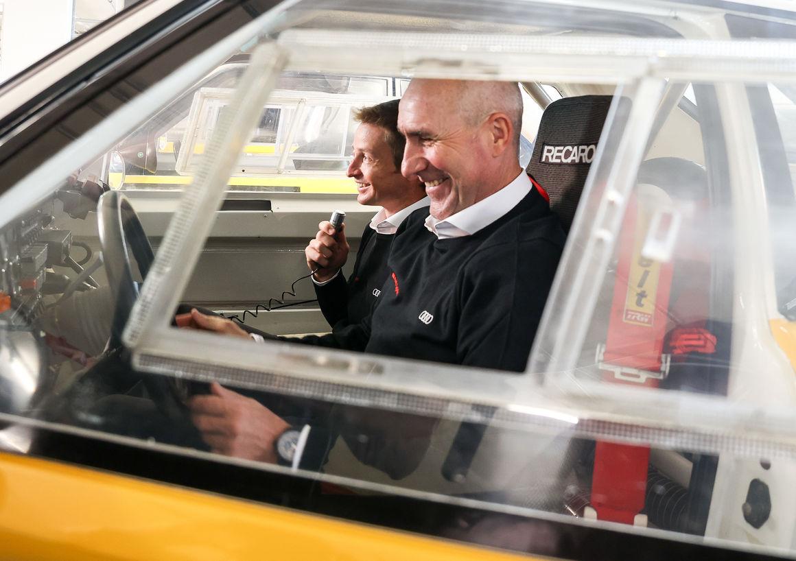 Fahrerpräsentation Rallye Dakar