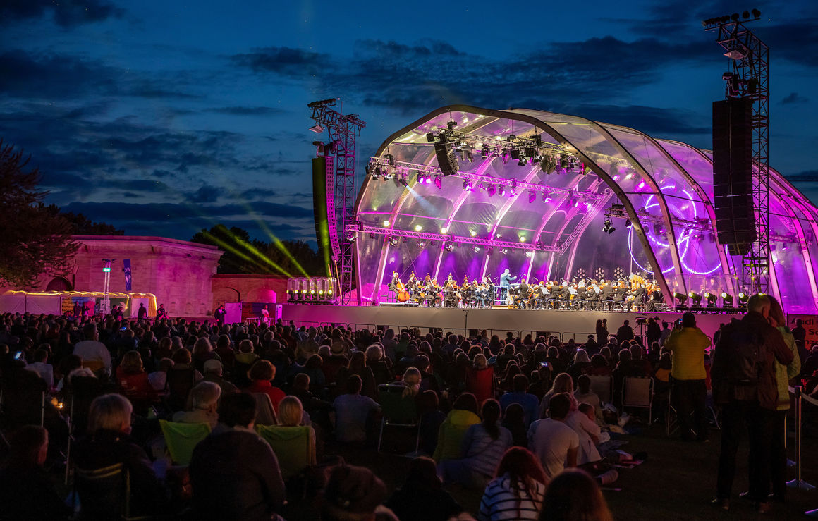Audi Sommerkonzerte 2021: Open Air & digital