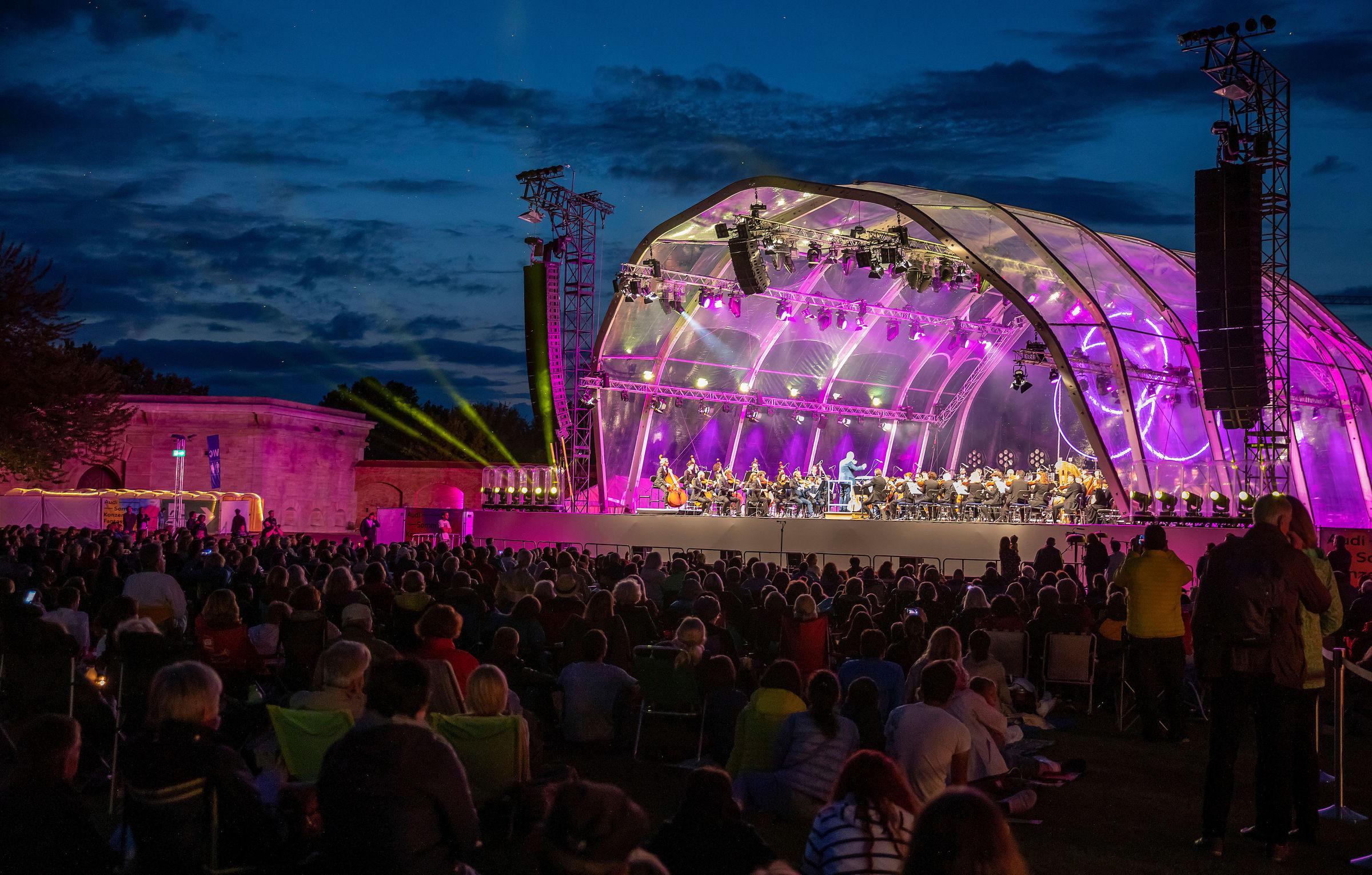 Lights of Europe!  Audi Sommerkonzert 2021