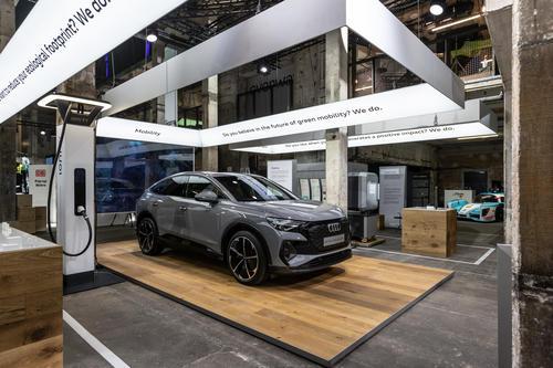Audi auf dem GREENTECH FESTIVAL 2021