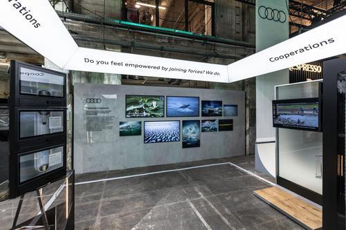 Audi at the GREENTECH FESTIVAL 2021