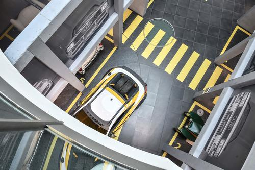 """Sonderausstellung im Audi museum mobile: """"Die Kunst des Parkens"""""""