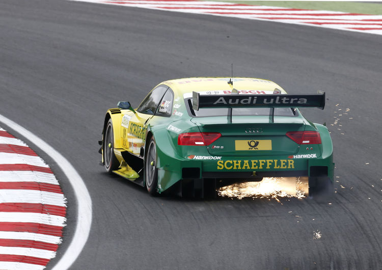 Audi RS 5 DTM on front row again