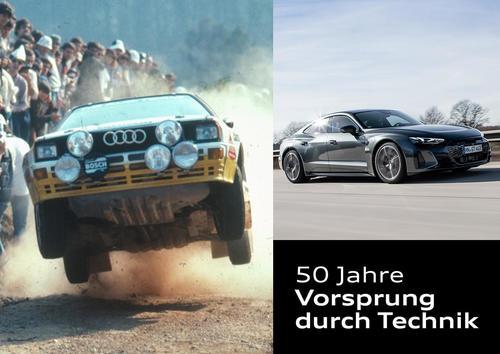 """Ein Claim mit Geschichte: Audi feiert 50 Jahre """"Vorsprung durch Technik"""""""